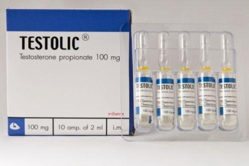 Testosterona Propionato Testolic 5 Ampollas