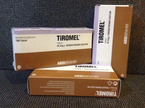 Tiromel Triacana (Liotironina Sodica) - 25mcg (25 Tabs)